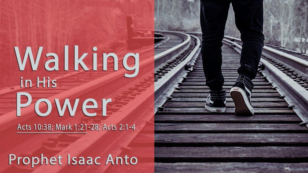 Walking in His Power Image
