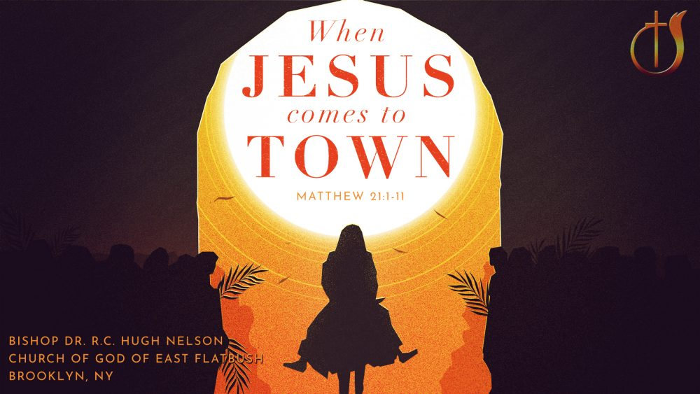 When Jesus Comes to Town Image