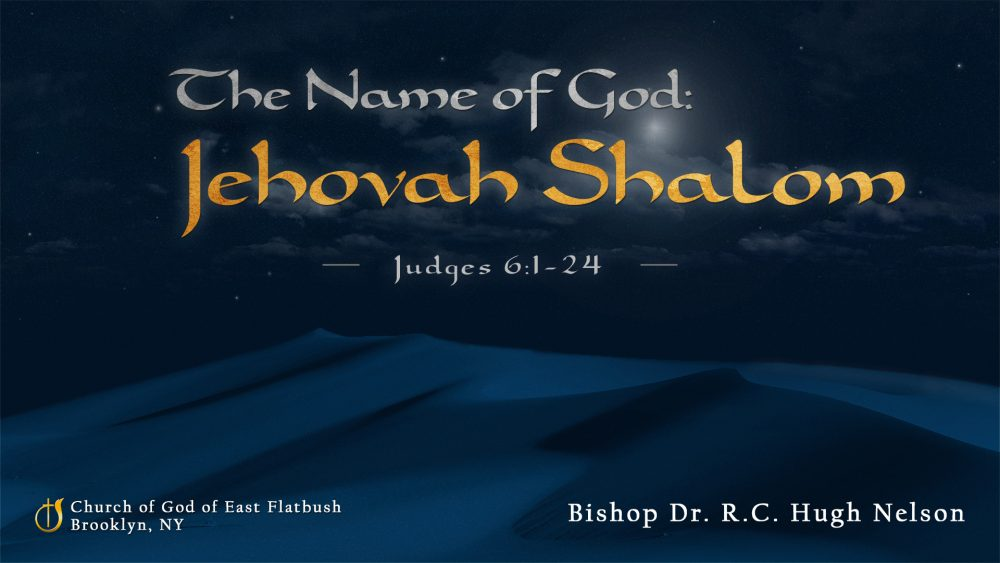 The Name of God: Jehovah Shalom Image