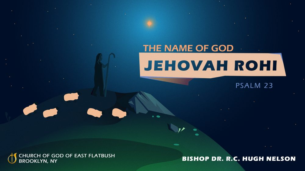 The Name of God: Jehovah Rohi Image