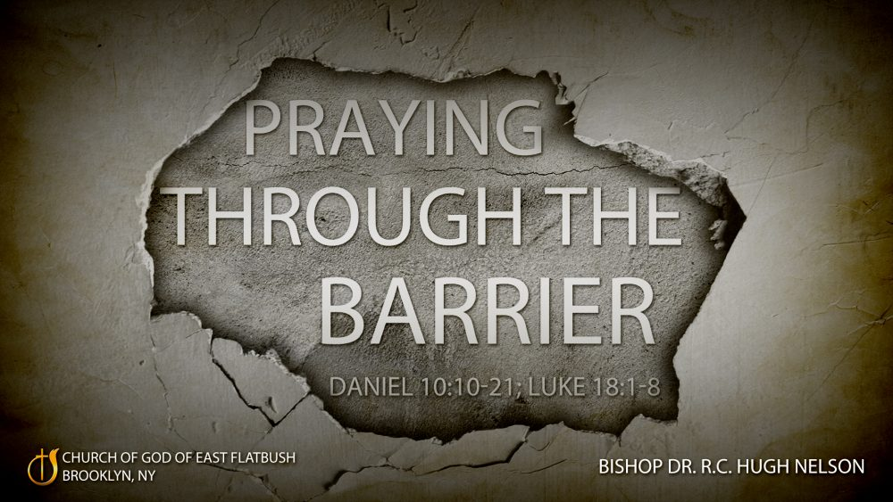 Praying Through the Barrier Image