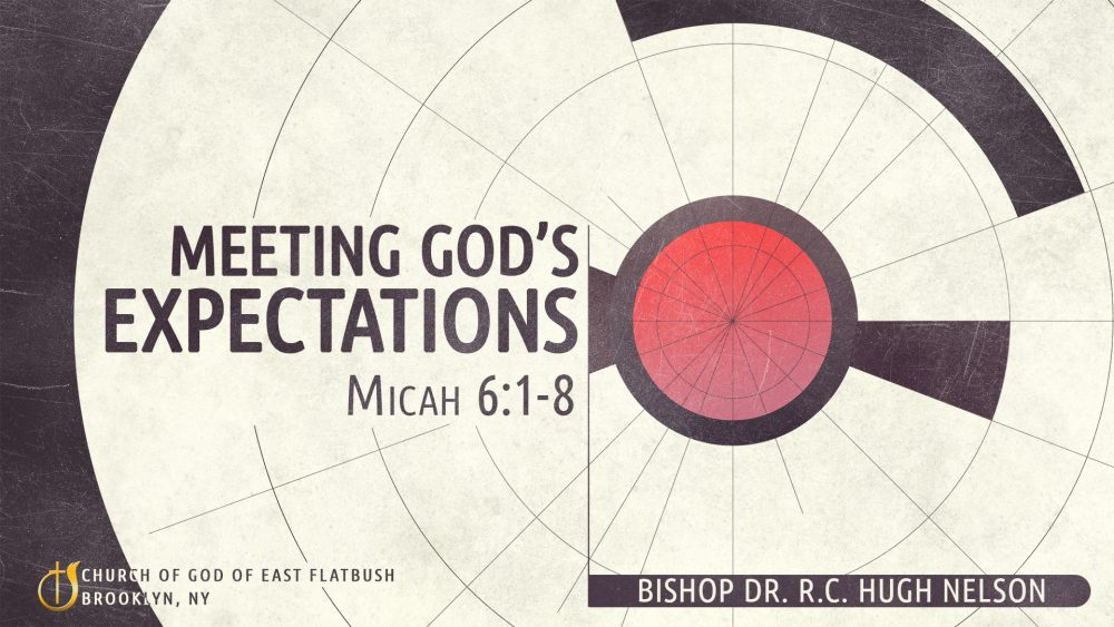 Meeting God's Expectations Image