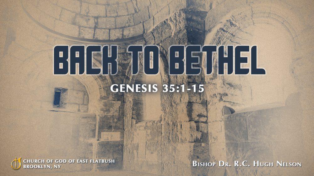 Back to Bethel Image