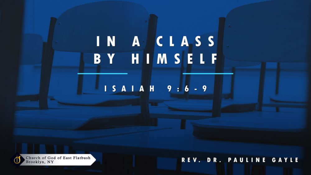In a Class by Himself Image