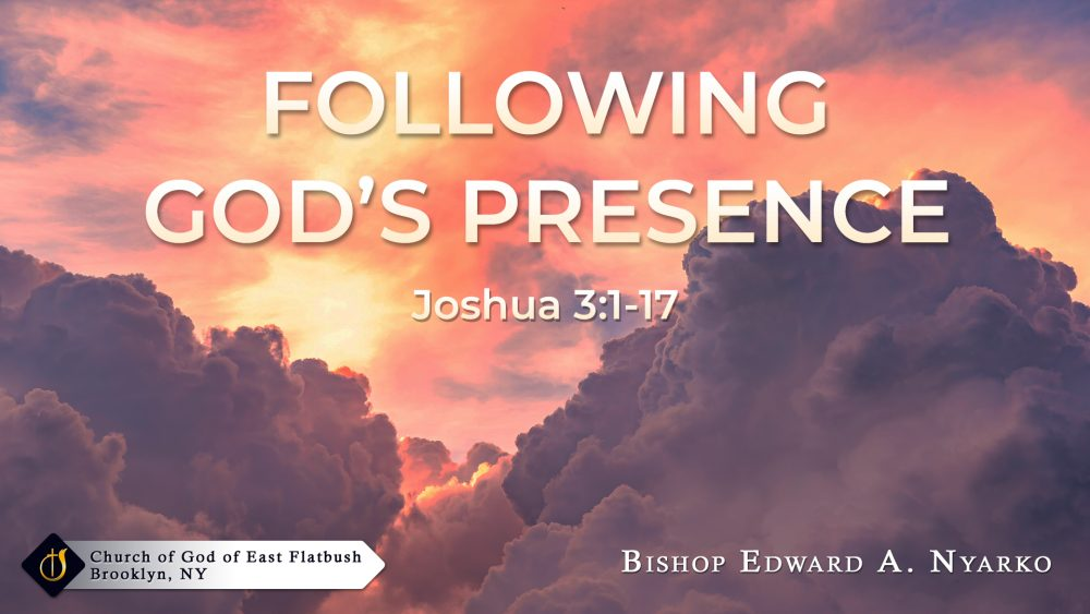 Following God's Presence Image