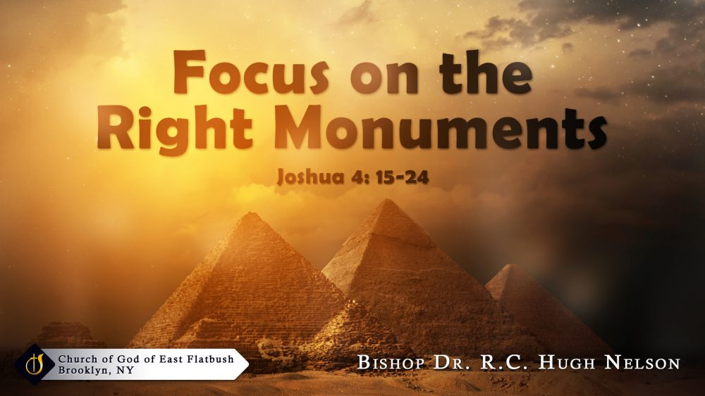 Focus on the Right Monuments Image