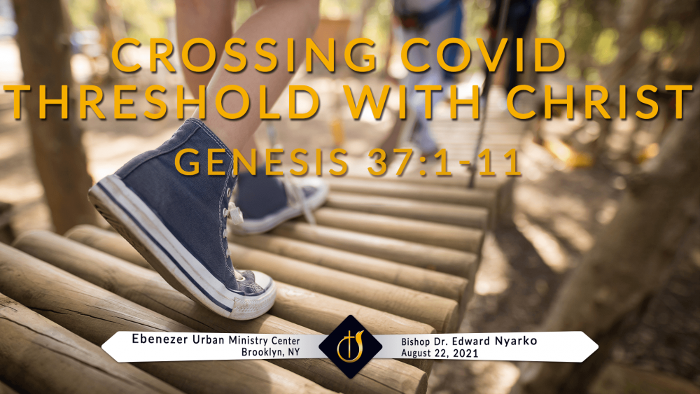Crossing the Covid Threshold with Christ Image